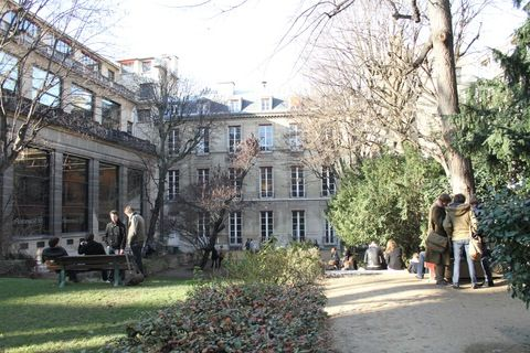 Le campus de Sciences Po Paris